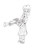 100524-2 吹奏部でトランペット担当、運動会がデビューの日.jpg